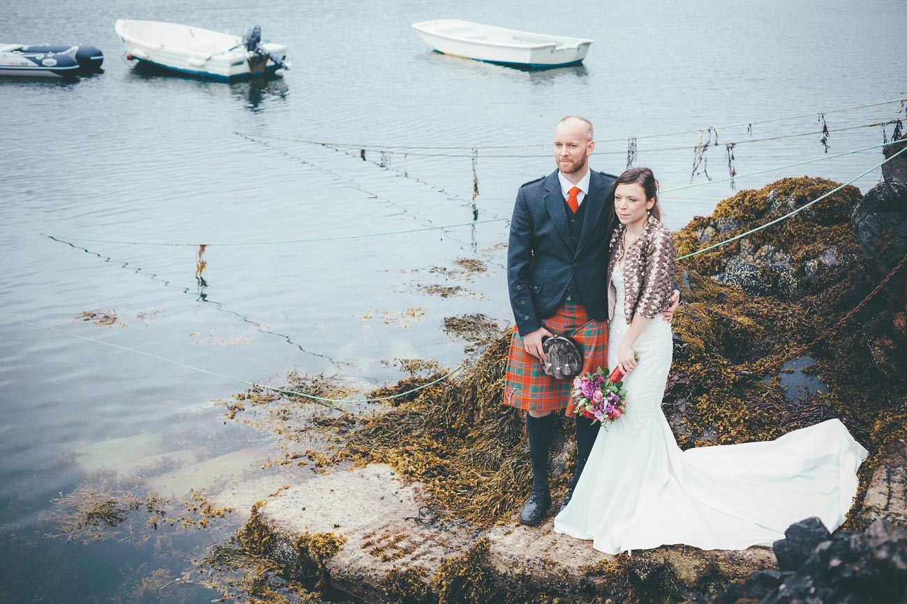 gairloch wedding photography elopement red point beach outdoor weddings scottish highlands 0047