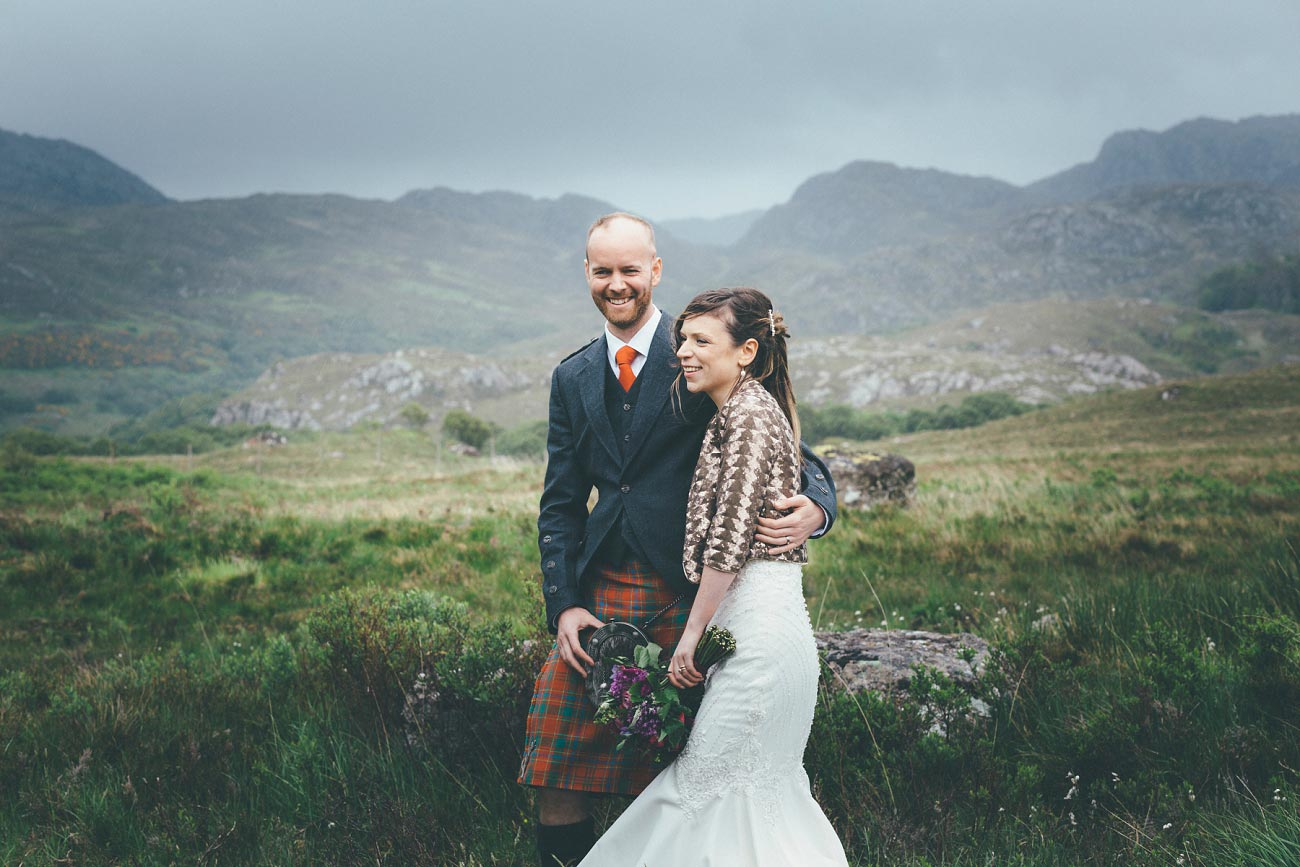 gairloch wedding photography elopement red point beach outdoor weddings scottish highlands 0048