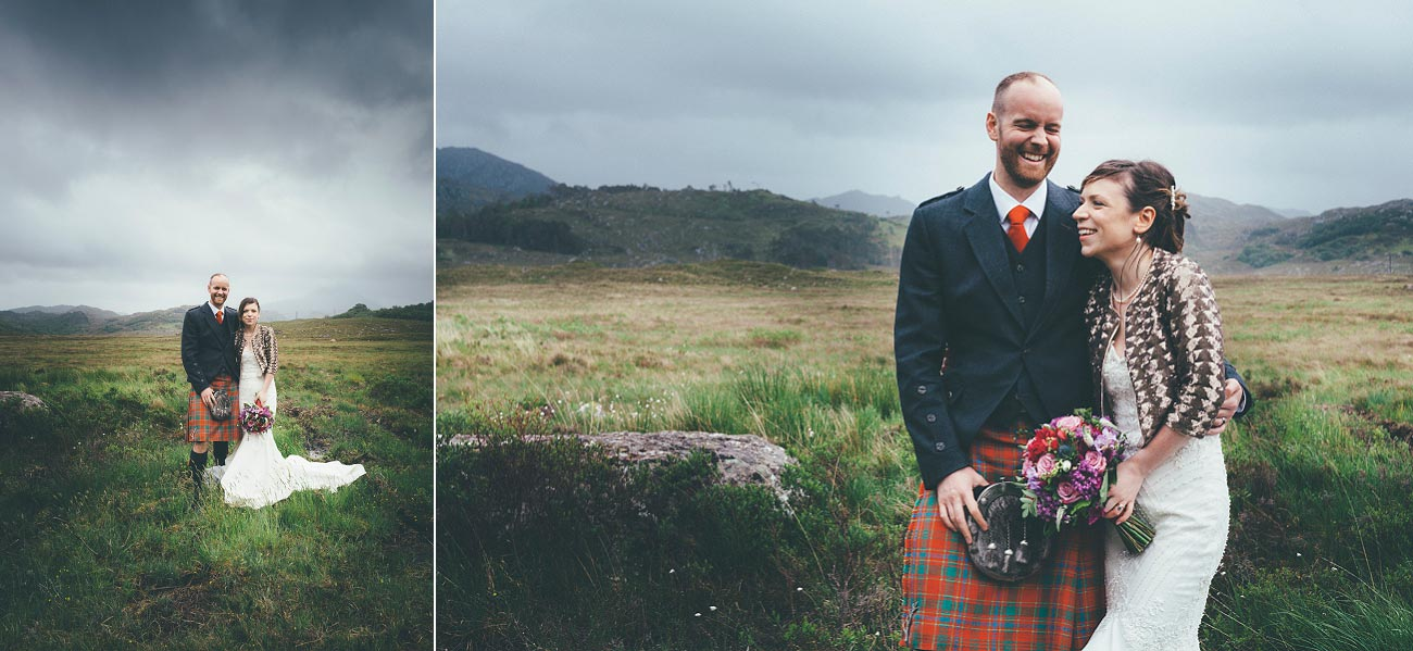 gairloch wedding photography elopement red point beach outdoor weddings scottish highlands 0049