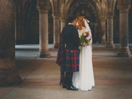 Glasgow Wedding Photography // Cottiers Theatre & Bar