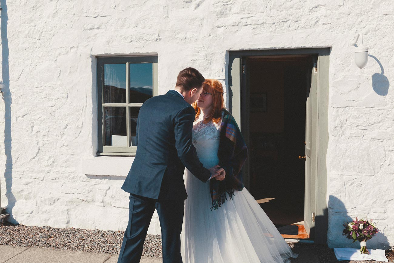 isle of skye elopement wedding photographer scotland dunscaith castle rj 0004