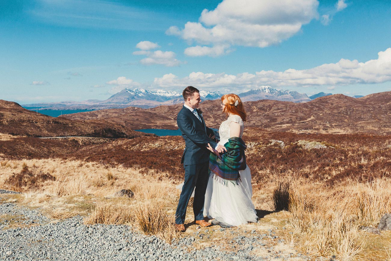 isle of skye elopement wedding photographer scotland dunscaith castle rj 0005