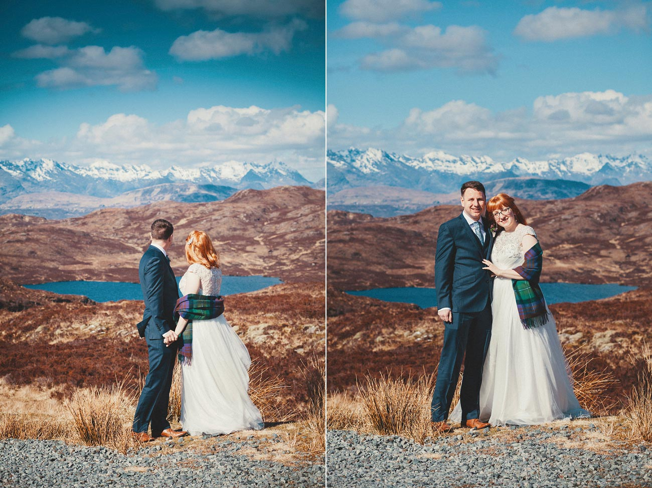 isle of skye elopement wedding photographer scotland dunscaith castle rj 0007