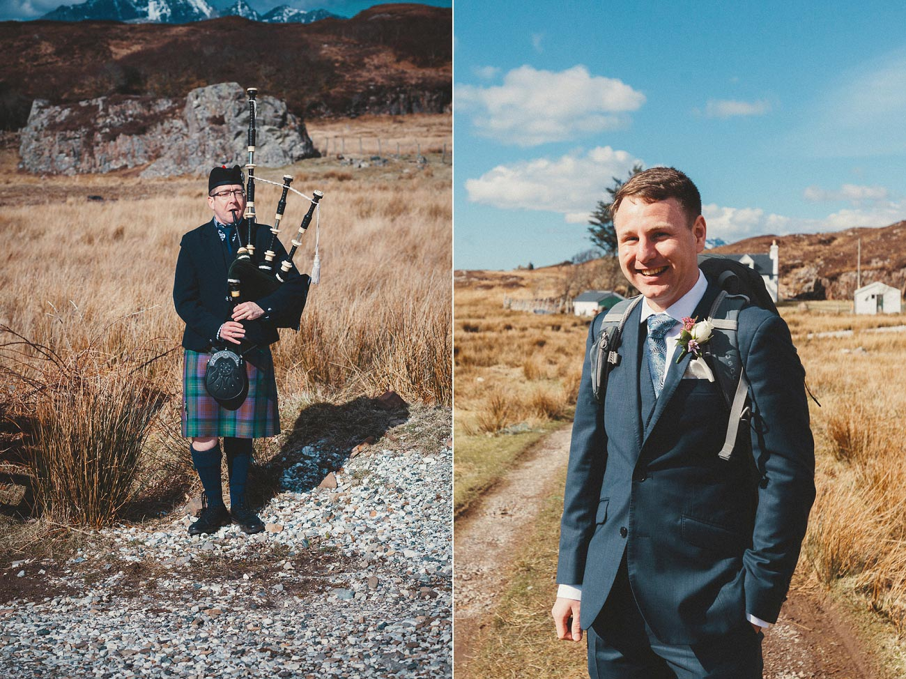 isle of skye elopement wedding photographer scotland dunscaith castle rj 0012