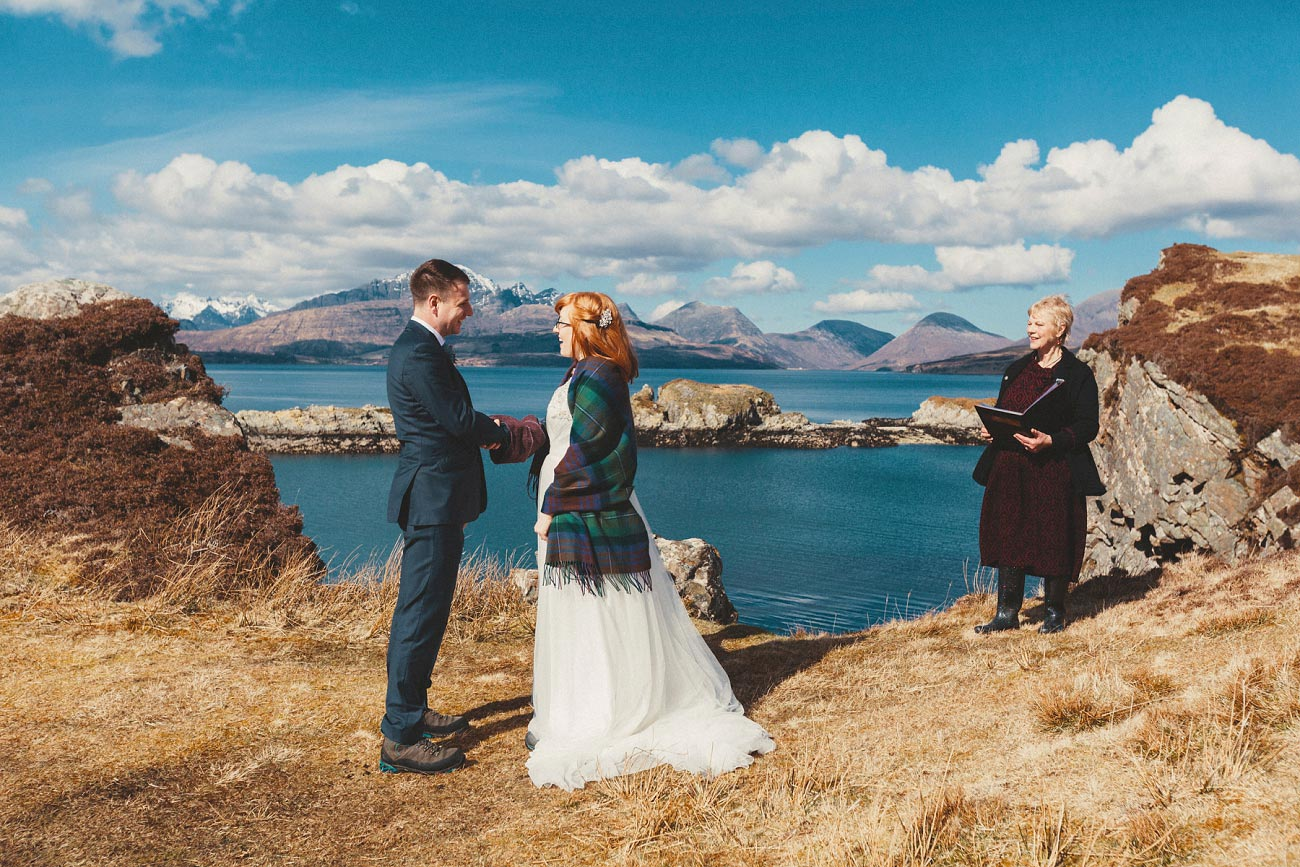 isle of skye elopement wedding photographer scotland dunscaith castle rj 0015