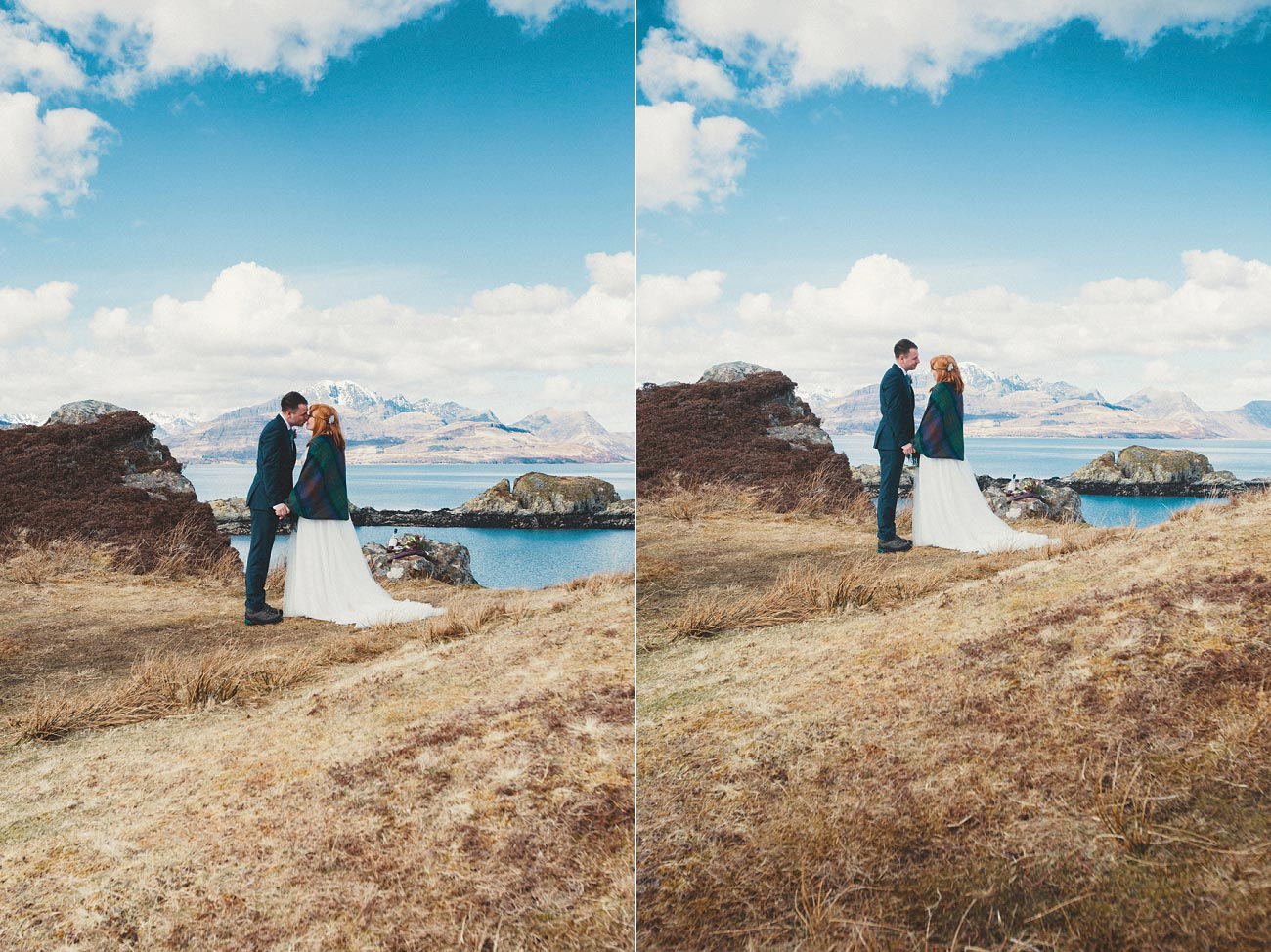 isle of skye elopement wedding photographer scotland dunscaith castle rj 0020