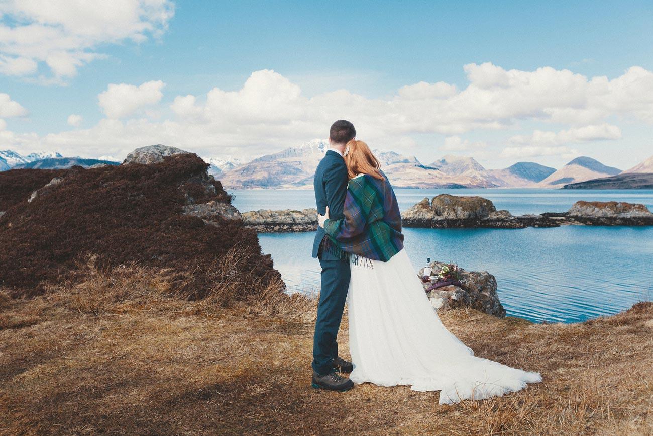 isle of skye elopement wedding photographer scotland dunscaith castle rj 0021