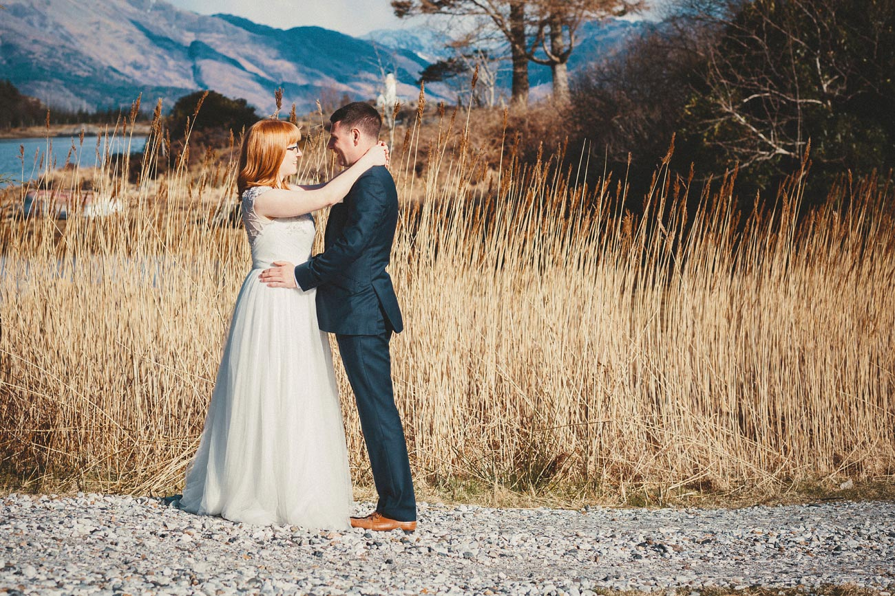 isle of skye elopement wedding photographer scotland dunscaith castle rj 0034