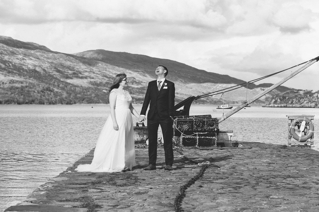 isle of skye elopement wedding photographer scotland dunscaith castle rj 0035