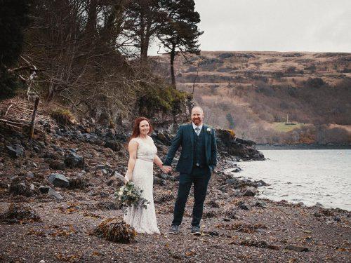 Isle of Skye Elopement // Dun Beag Broch