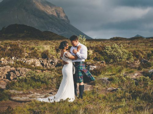 Elgol Elopement Wedding // Isle of Skye