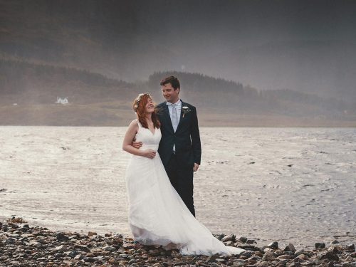 Isle of Skye Elopement Photography // Woodland Wedding