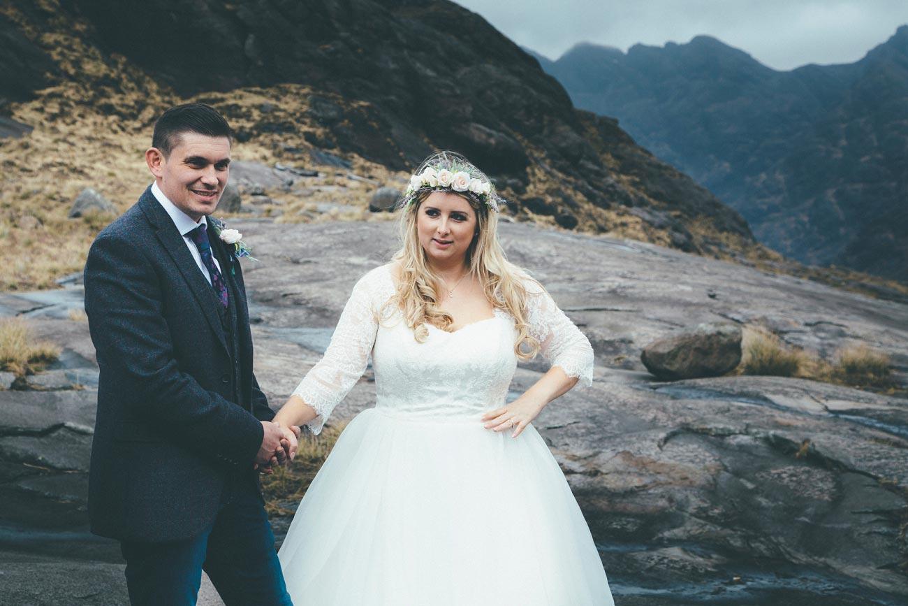 isle of skye wedding loch coruisk small outdoor wedding photography scotland scottish highlands photographer 0025