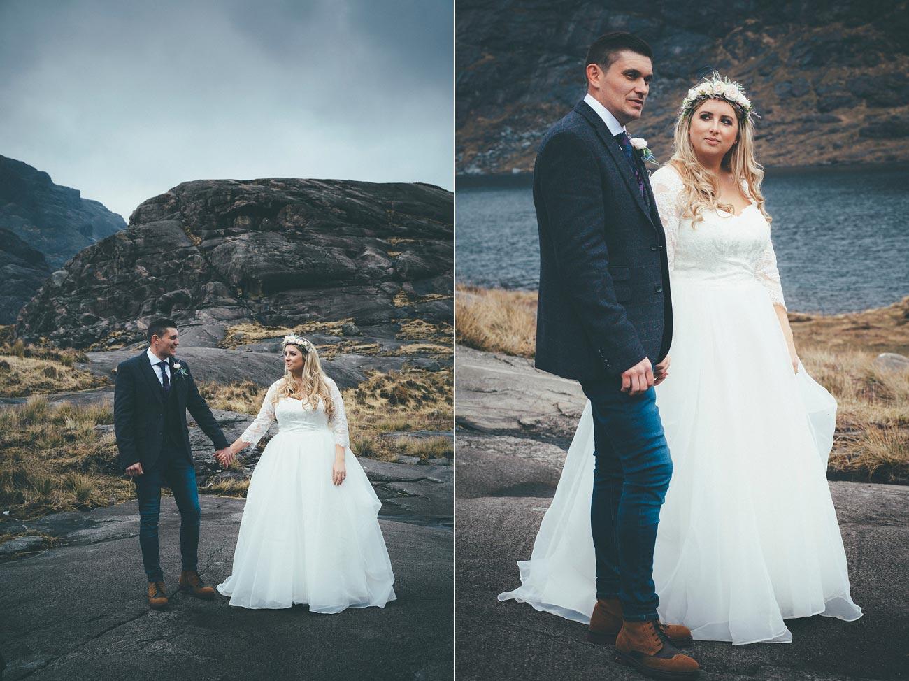 isle of skye wedding loch coruisk small outdoor wedding photography scotland scottish highlands photographer 0029