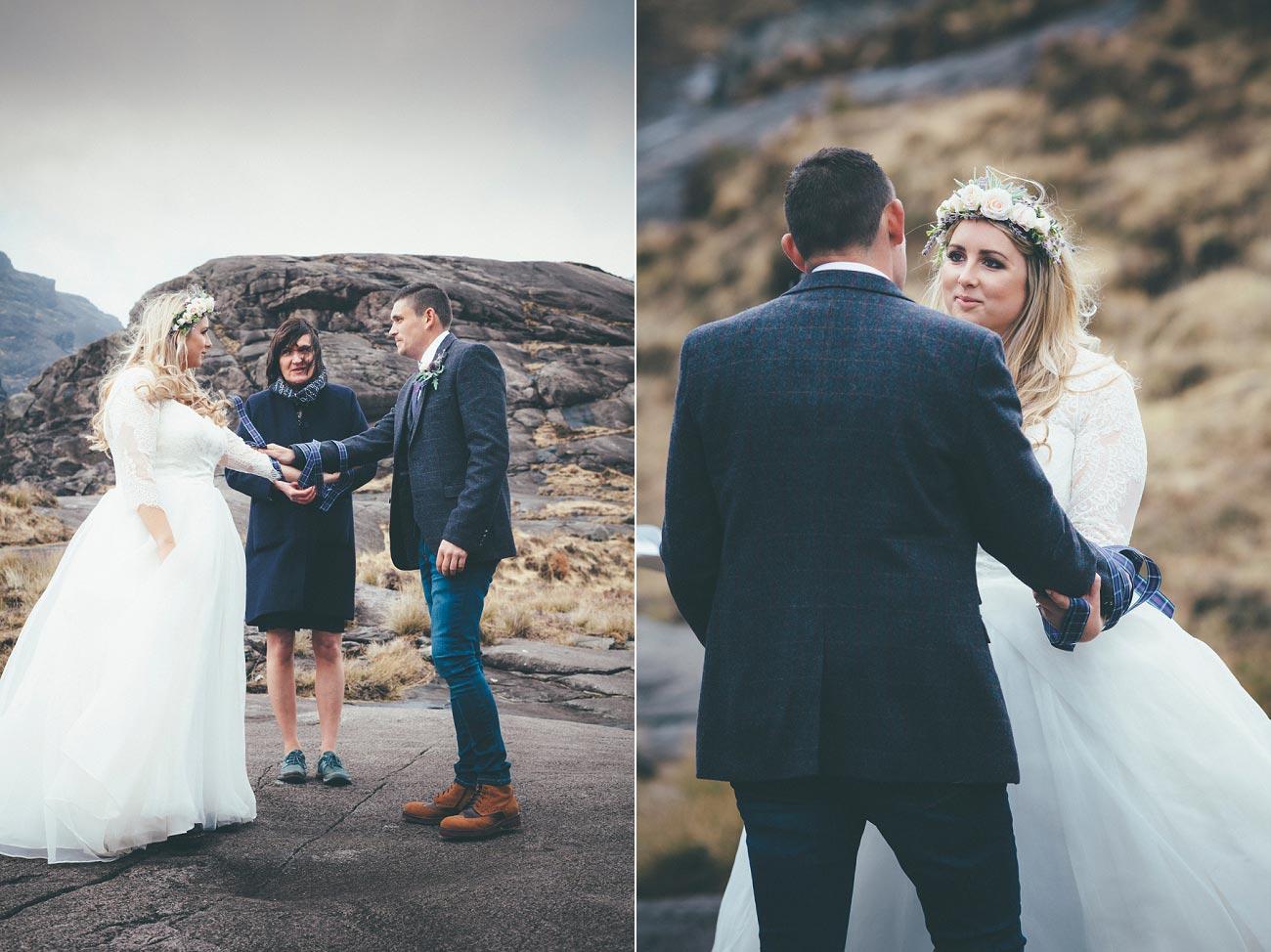isle of skye wedding loch coruisk small outdoor wedding photography scotland scottish highlands photographer 0036