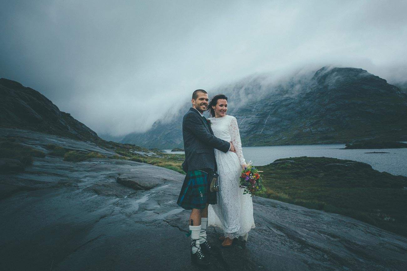 isle of skye wedding photography elopement loch coruisk humanist outdoor weddings scottish highlands 0045