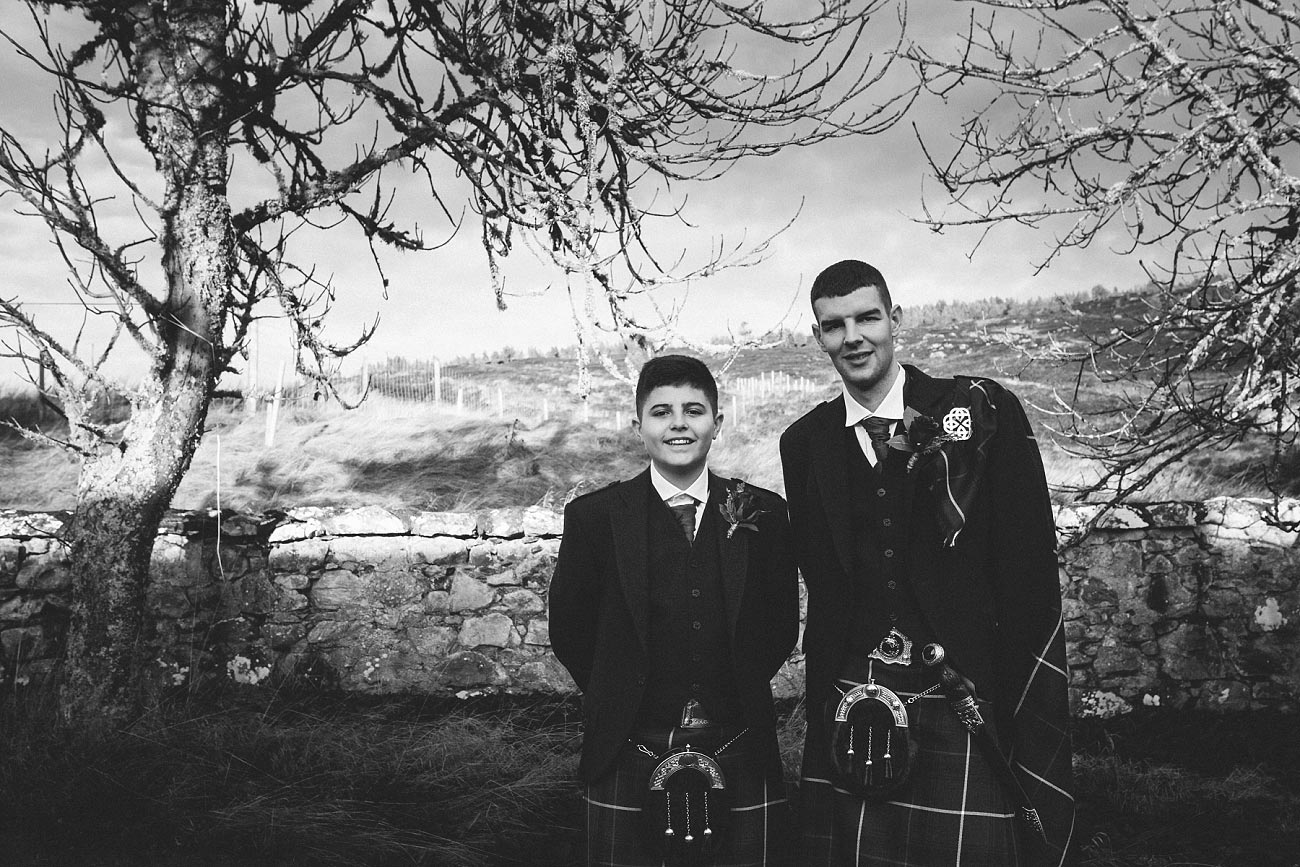 small church wedding Invernessshire scotland scottish highlands Croick 0013