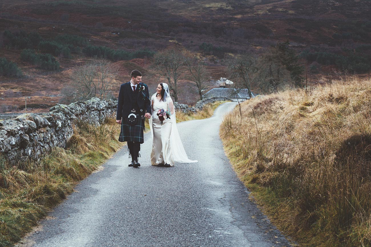 small church wedding Invernessshire scotland scottish highlands Croick 0043