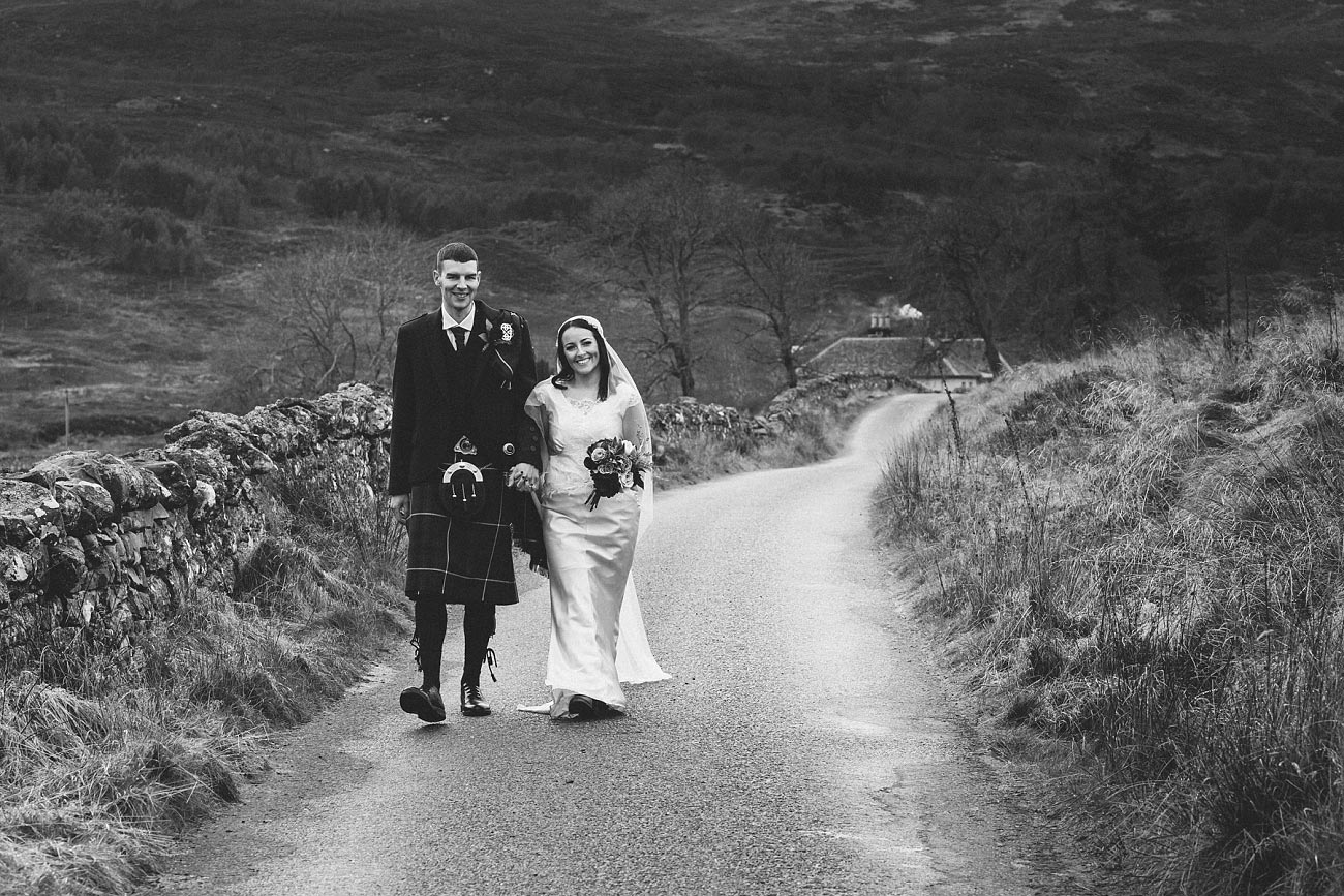 small church wedding Invernessshire scotland scottish highlands Croick 0044