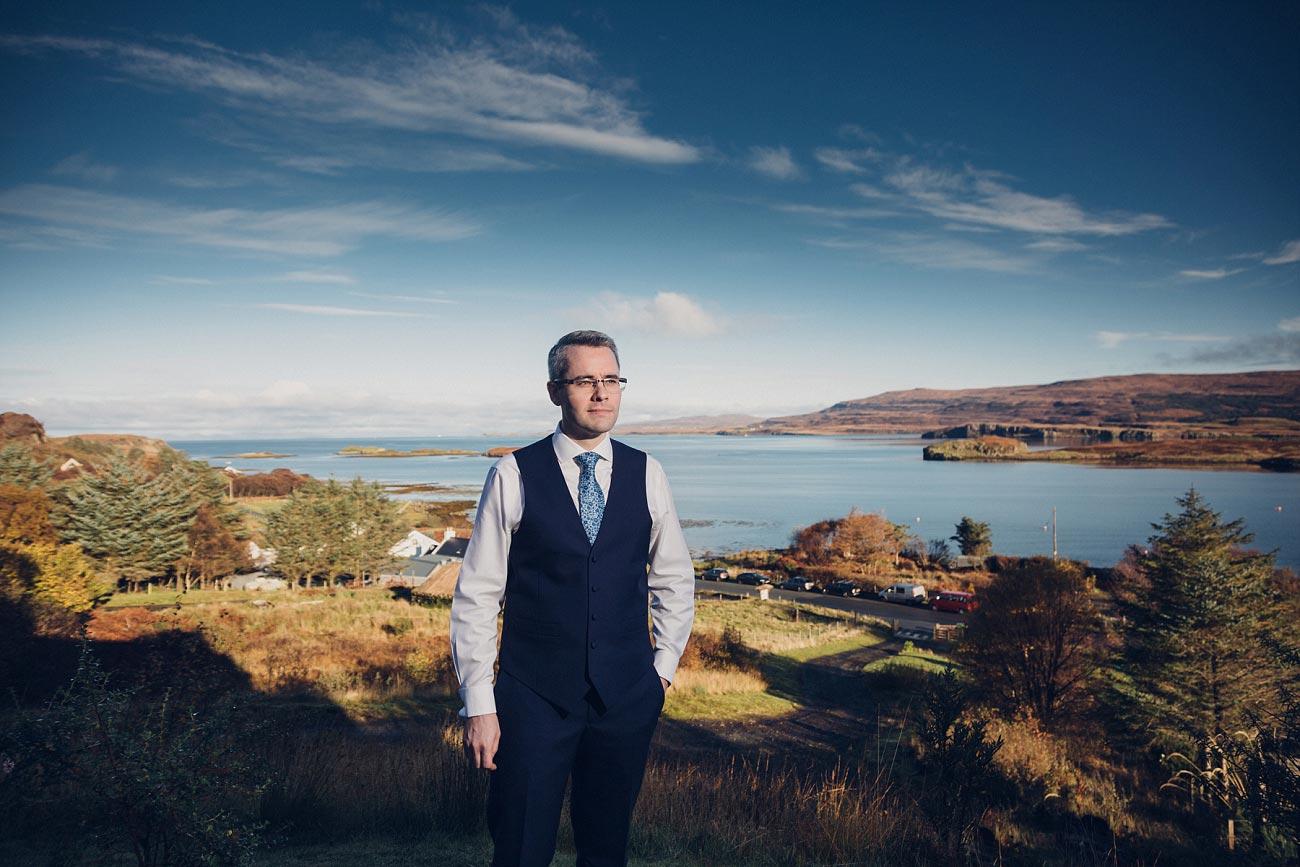 small church wedding Isle of Skye Scotland scottish Highlands 0017