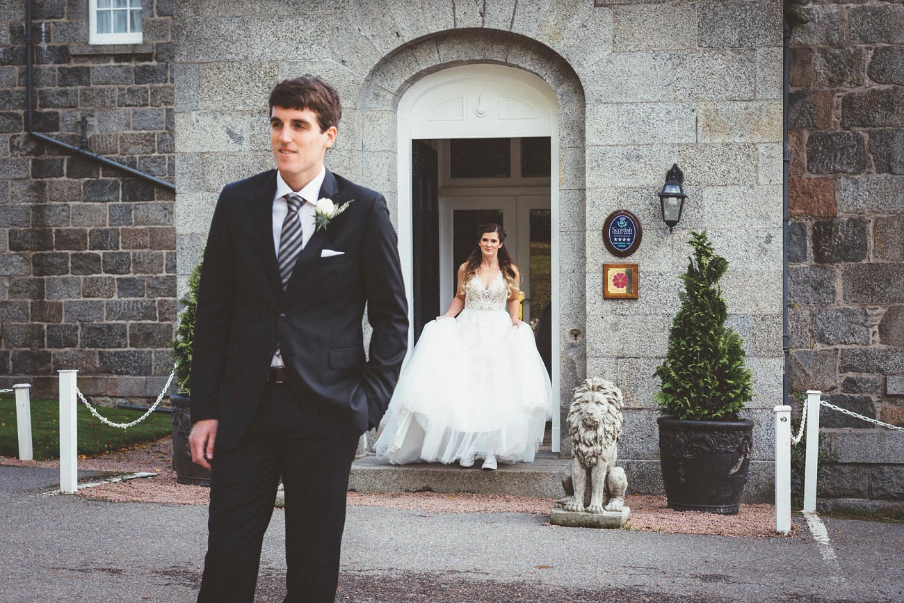 wedding photographer aberdeen scotland raemoir house dunnottar castle 0015
