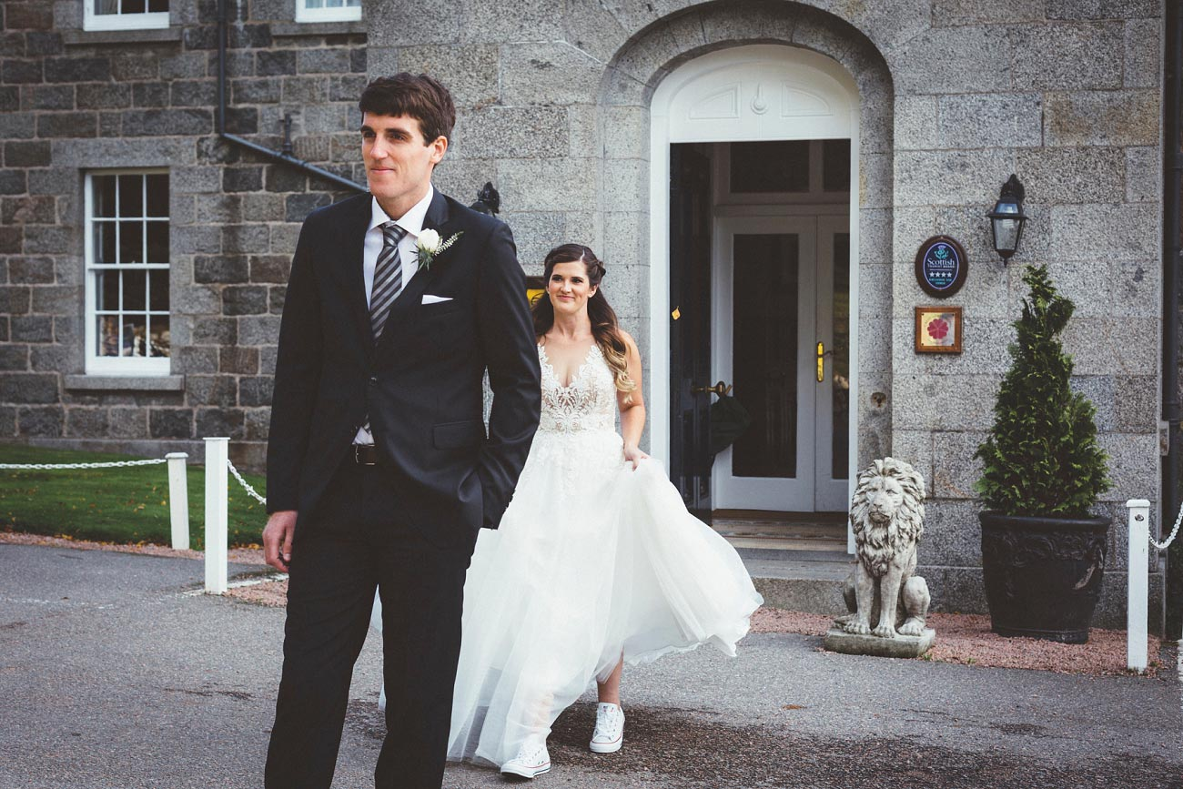 wedding photographer aberdeen scotland raemoir house dunnottar castle 0016