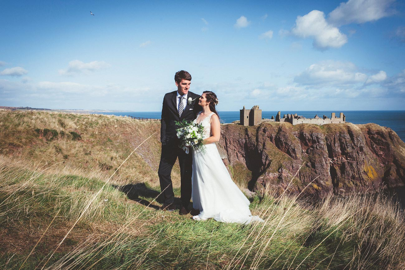 wedding photographer aberdeen scotland raemoir house dunnottar castle 0022