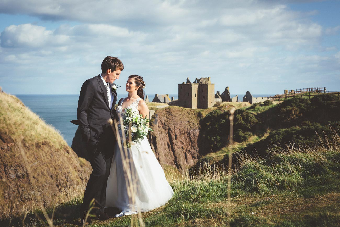 wedding photographer aberdeen scotland raemoir house dunnottar castle 0027