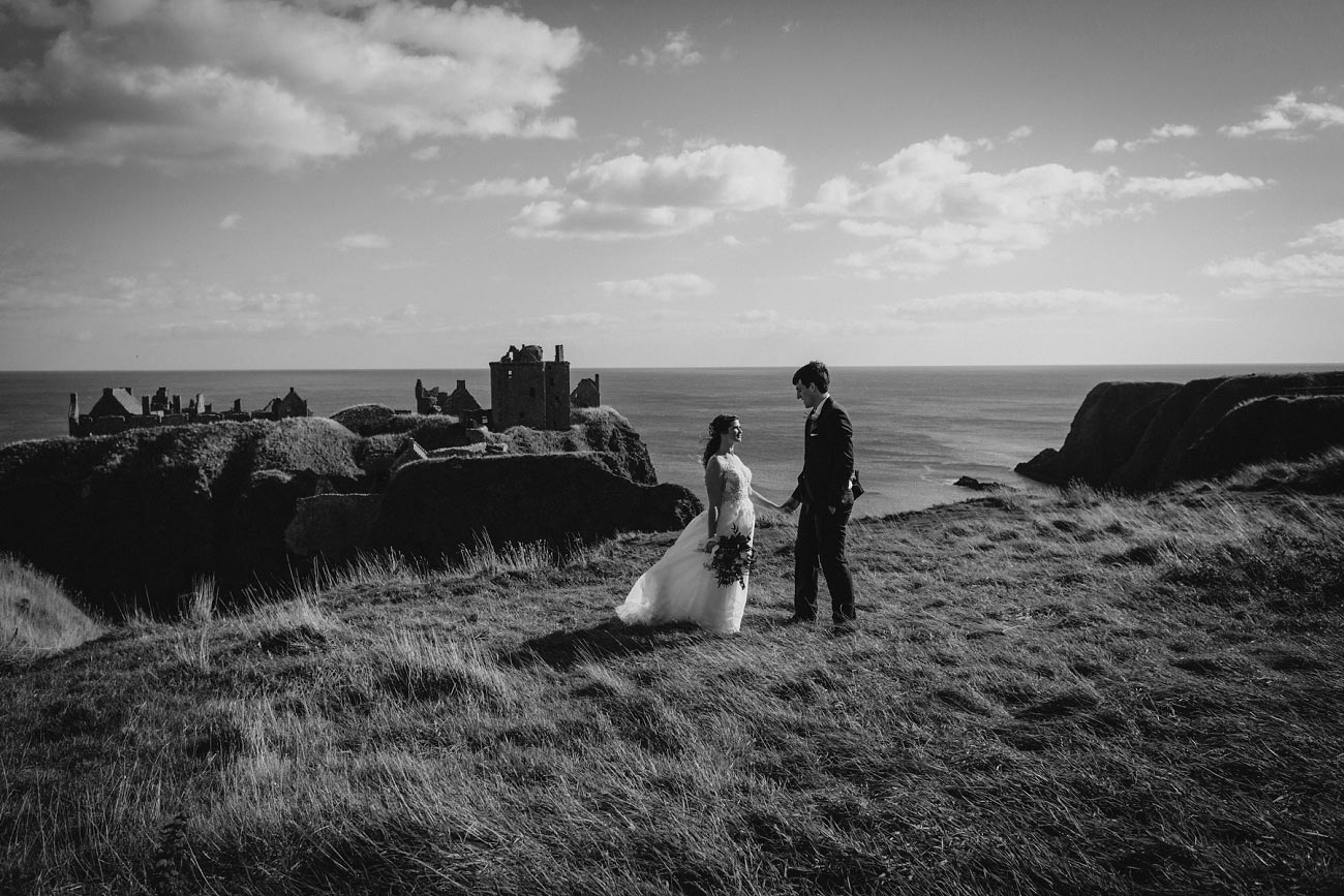 wedding photographer aberdeen scotland raemoir house dunnottar castle 0031
