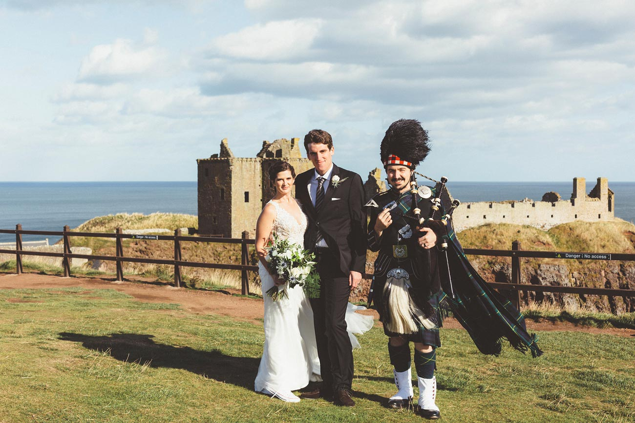 wedding photographer aberdeen scotland raemoir house dunnottar castle 0045