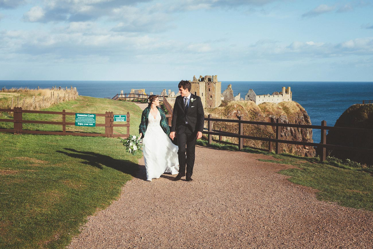 wedding photographer aberdeen scotland raemoir house dunnottar castle 0053