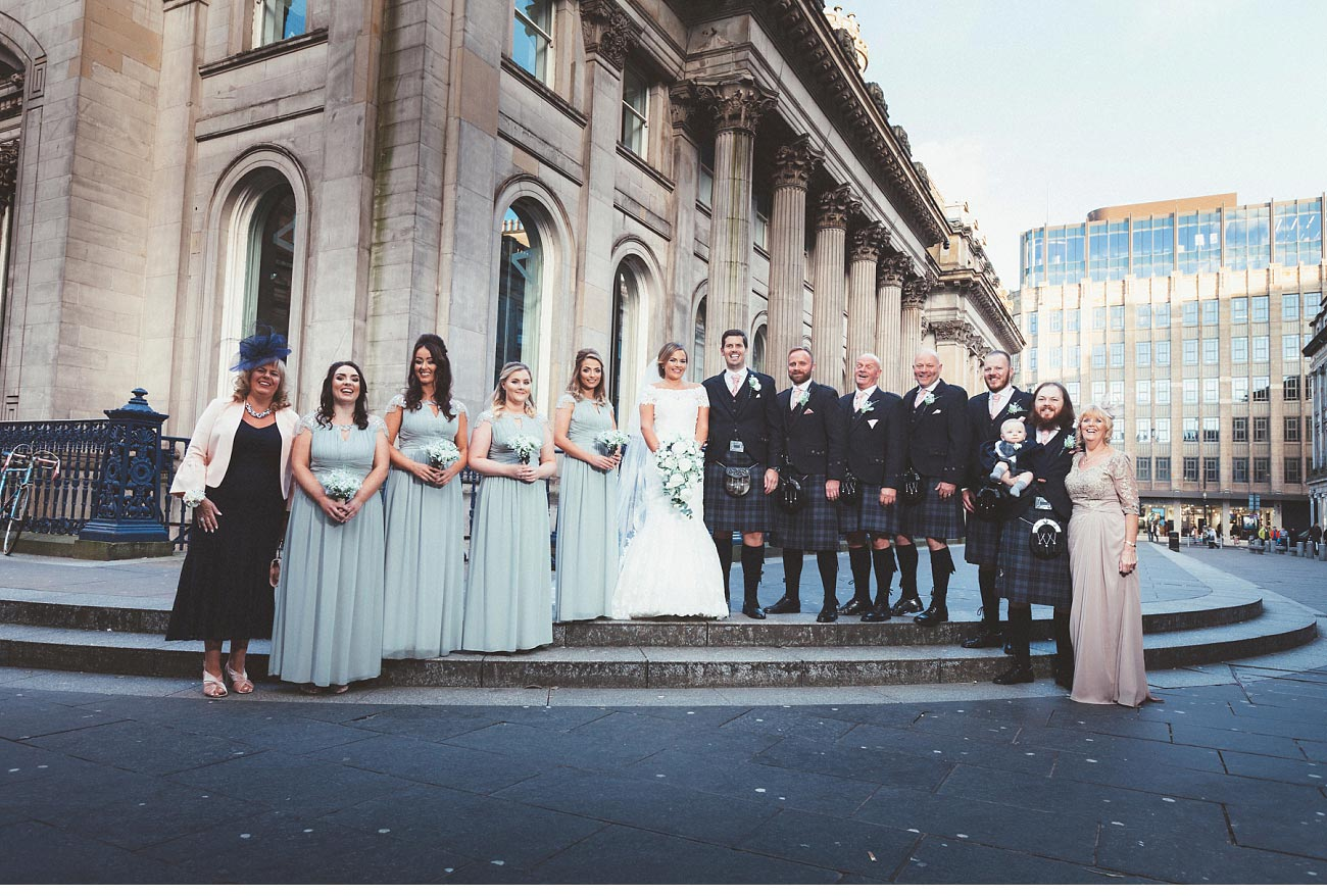 wedding photographer glasgow 29 Royal Exchange square 0038