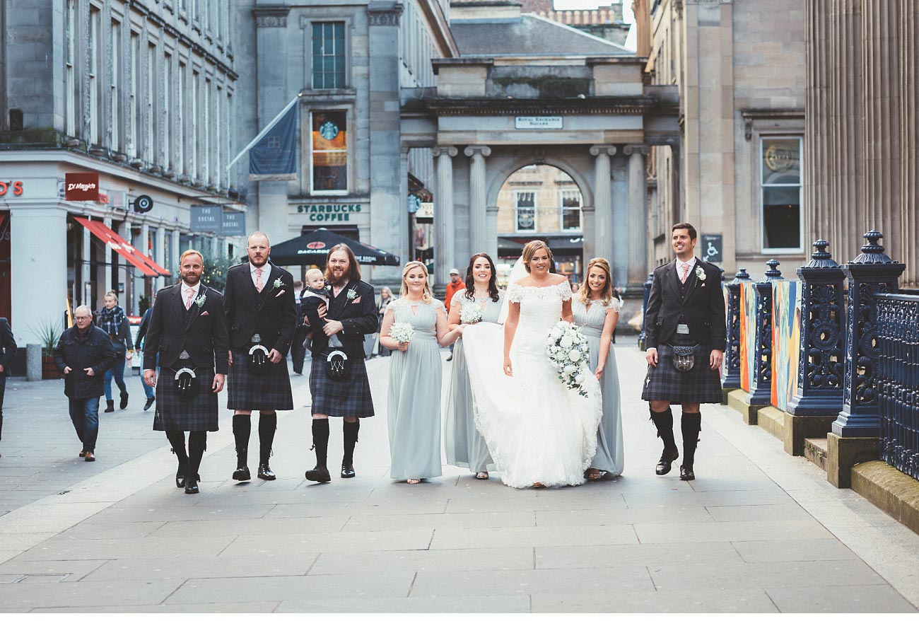wedding photographer glasgow 29 Royal Exchange square 0039