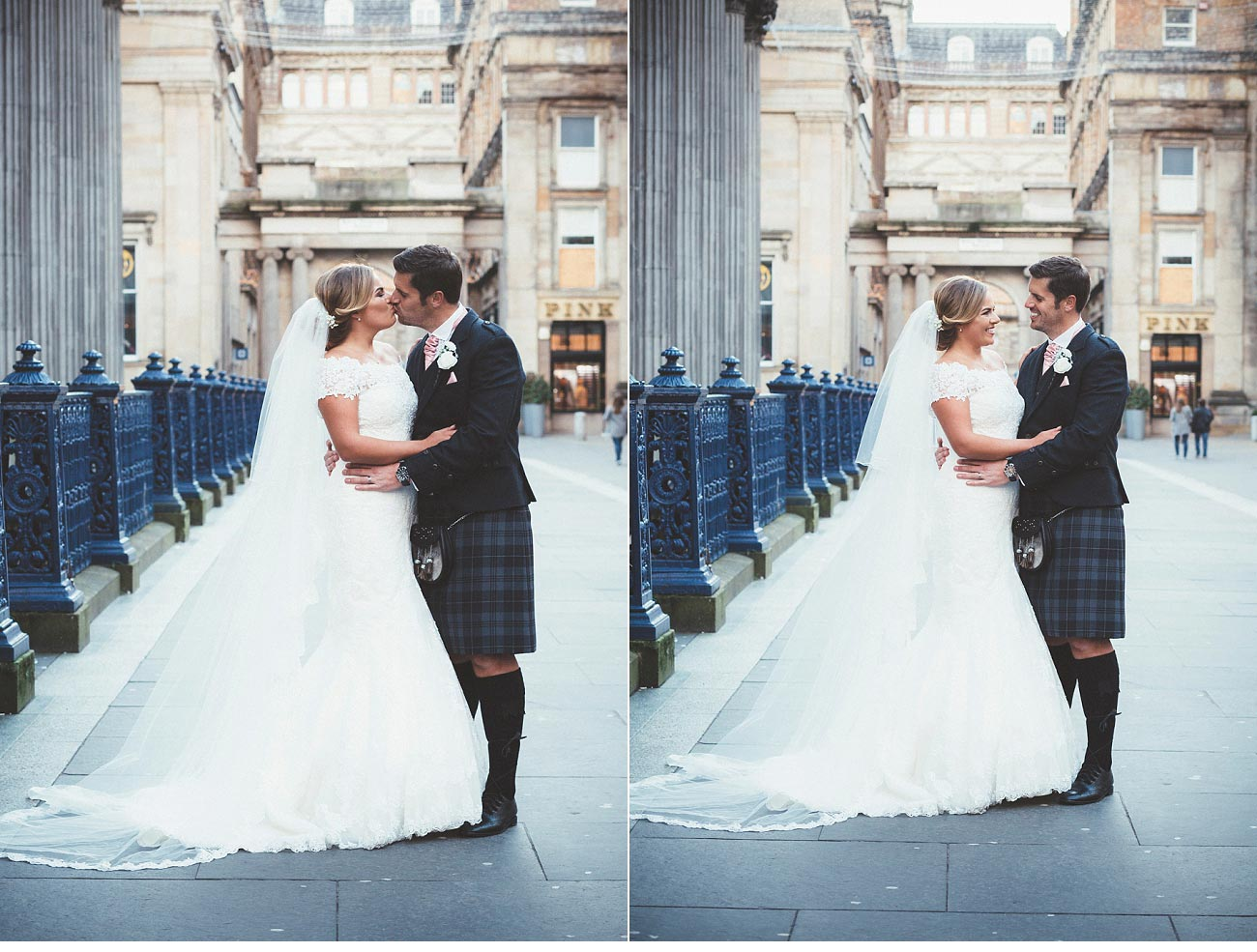 wedding photographer glasgow 29 Royal Exchange square 0043