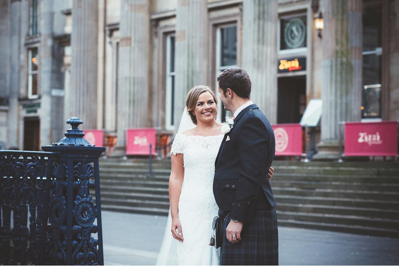 wedding photographer glasgow 29 Royal Exchange square 0046