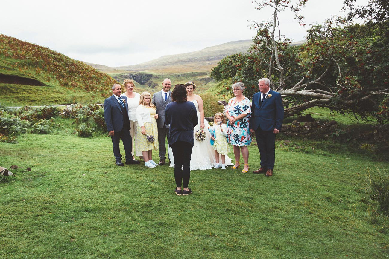 wedding photographer isle of skye fairy glen sp 0015