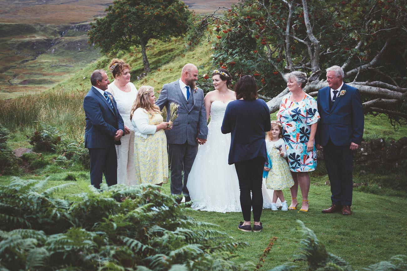 wedding photographer isle of skye fairy glen sp 0016
