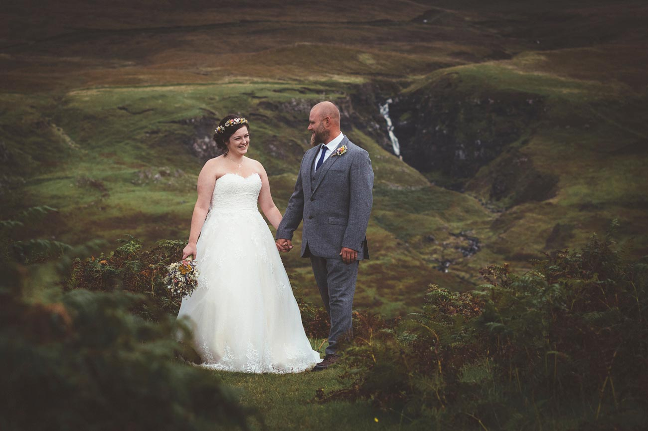 wedding photographer isle of skye fairy glen sp 0024