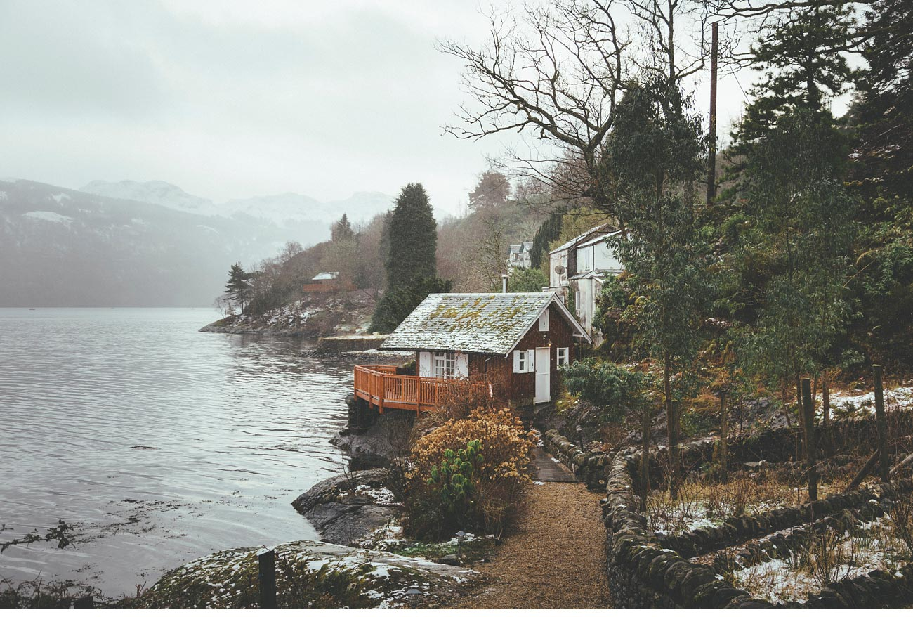 wedding photographer lodge on loch goil elopement outdoor treehouse 0003