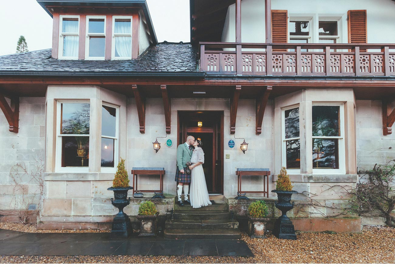wedding photographer lodge on loch goil elopement outdoor treehouse 0019