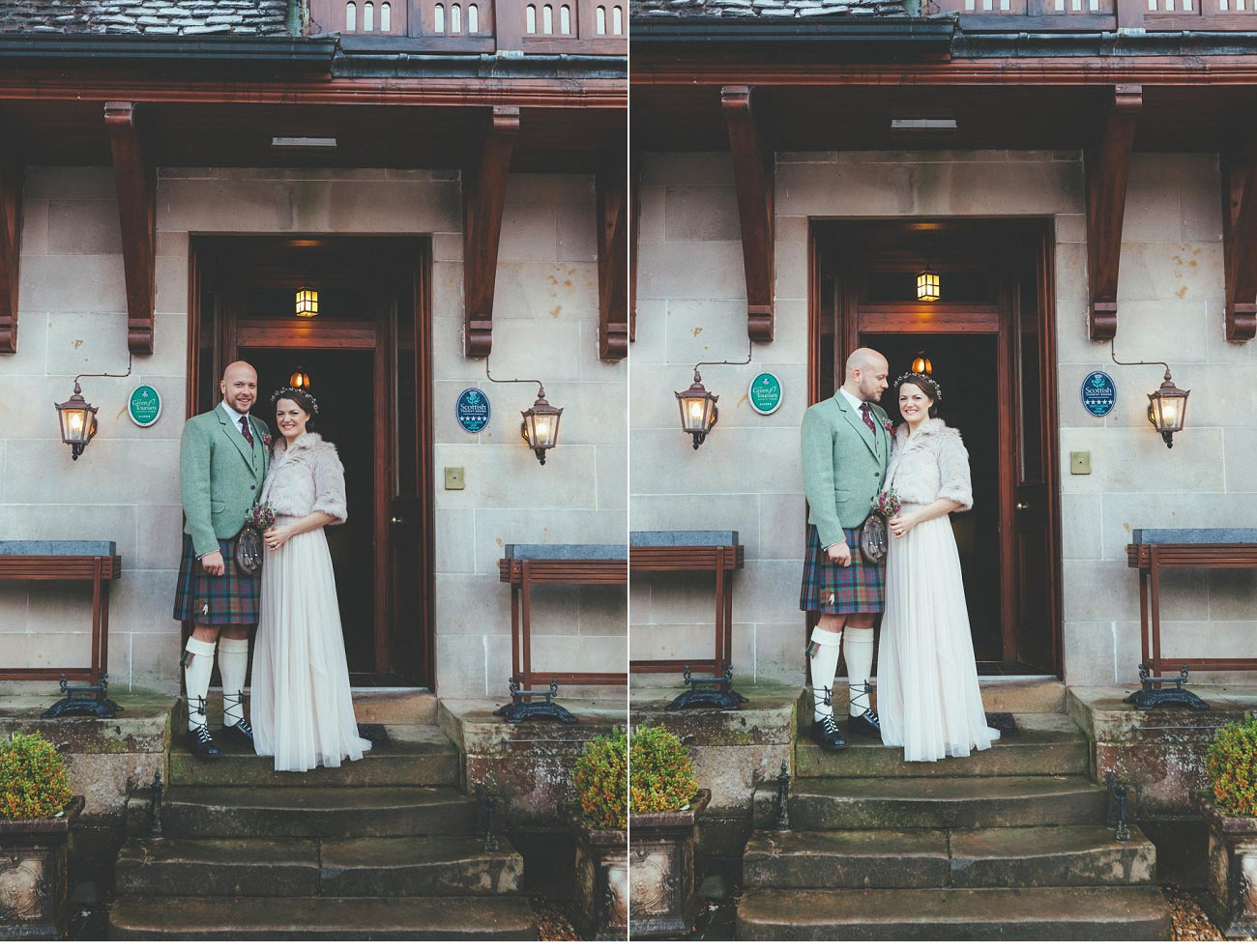 wedding photographer lodge on loch goil elopement outdoor treehouse 0020