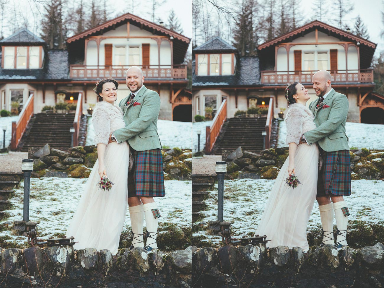 wedding photographer lodge on loch goil elopement outdoor treehouse 0048