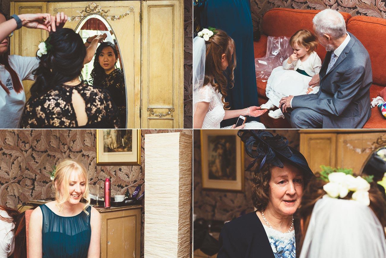 wedding photographer trossach kirk church roman camp hotel callander scotland 0011