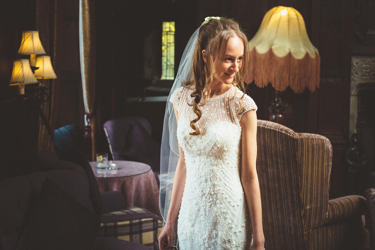 wedding photographer trossach kirk church roman camp hotel callander scotland 0014