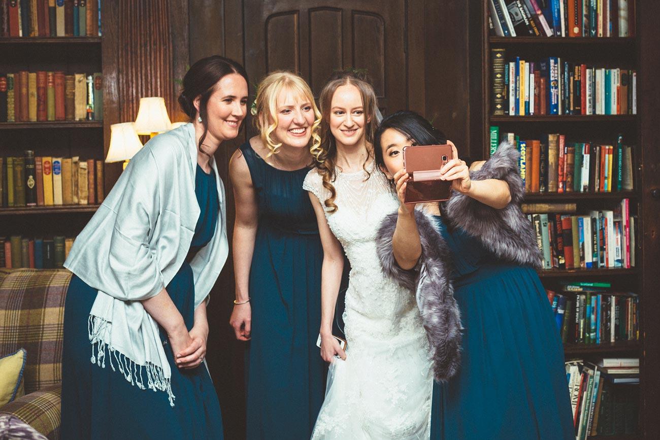 wedding photographer trossach kirk church roman camp hotel callander scotland 0016