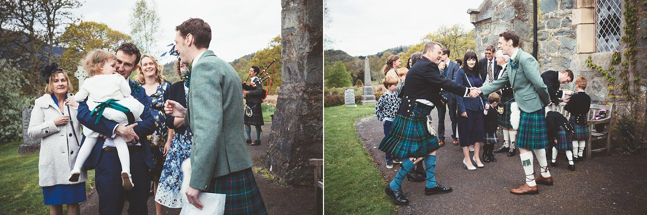 wedding photographer trossach kirk church roman camp hotel callander scotland 0035