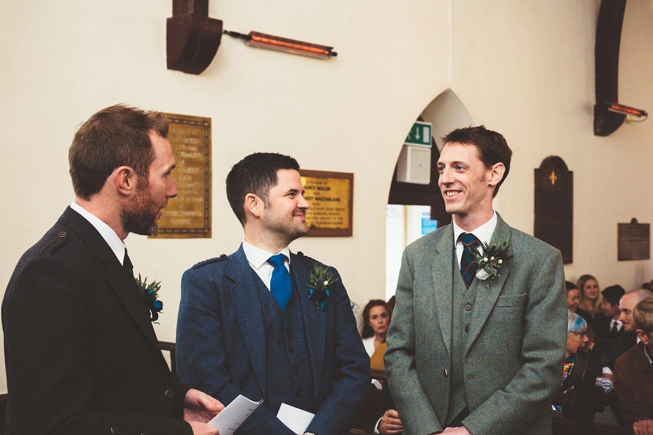 wedding photographer trossach kirk church roman camp hotel callander scotland 0044