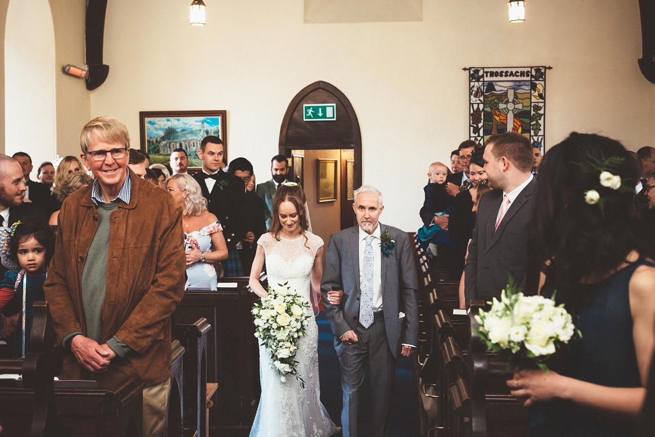 wedding photographer trossach kirk church roman camp hotel callander scotland 0047