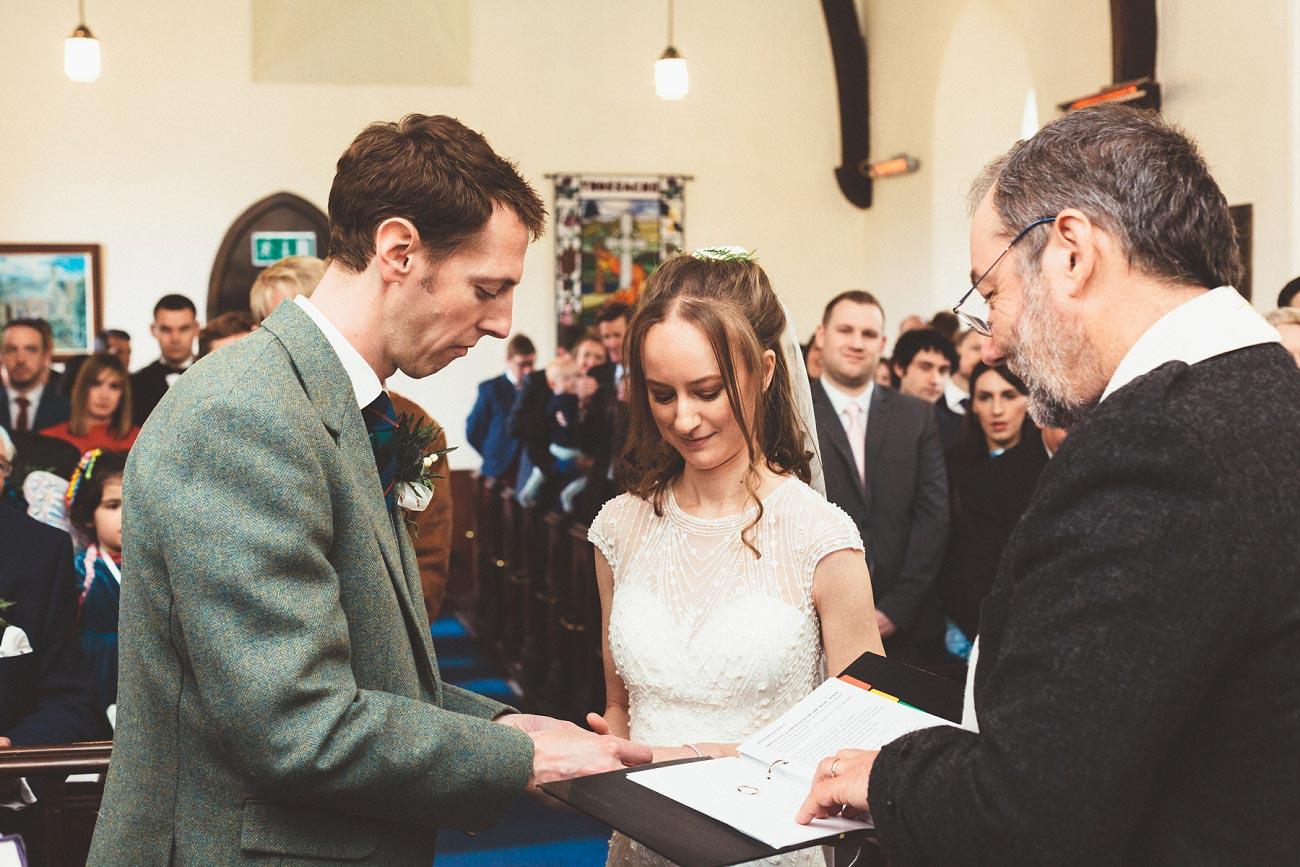 wedding photographer trossach kirk church roman camp hotel callander scotland 0050