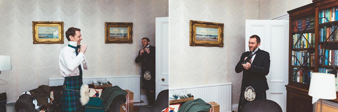 wedding photographer trossach kirk church roman camp hotel callander scotland 005a